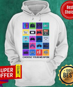 Official Many Game Choose Your Weapon Hoodie