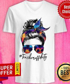 Premium Girl Teacher Off Duty V-neck