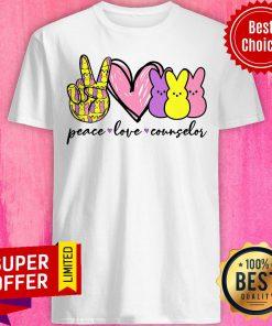 Top Peace Love Counselor Shirt
