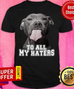 Bleble Pitbull To All My Haters Shirt