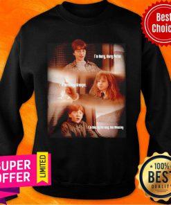 Harry Potter Hermione Granger And Ron Weasley Friends Sweatshirt