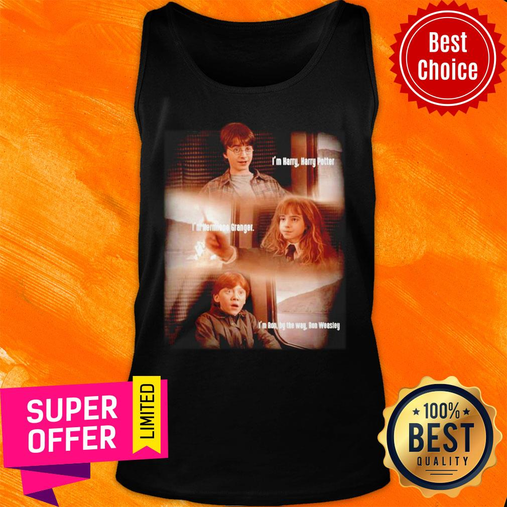 Harry Potter Hermione Granger And Ron Weasley Friends Tank Top