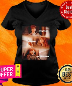 Harry Potter Hermione Granger And Ron Weasley Friends V-neck