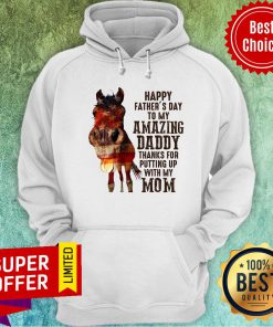 Horse Happy Father'S Day To My Amazing Daddy Hoodie