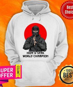 Ninja Hide Seek World Champion Hoodie