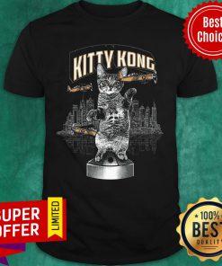 Funny Cat Kitty Kong Shirt