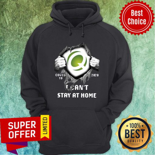 Quest Diagnostics Inside Me Covid-19 2020 I Can't Stay At Home Hoodie