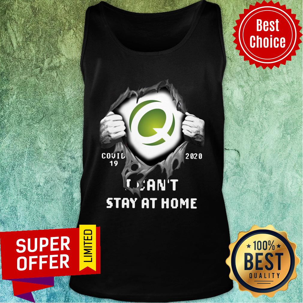 Quest Diagnostics Inside Me Covid-19 2020 I Can't Stay At Home Tank Top