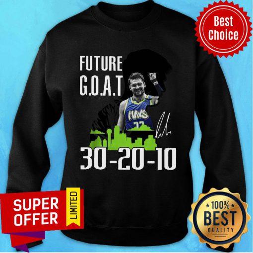 Future Goat Dallas Mavericks Basketball Signature Sweatshirt