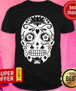 Official Sugar Skull Halloween Shirt