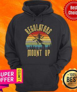 Regulators Mount Up Witch Vintage Hoodie