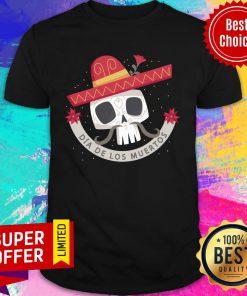 Dia De Los Muertos Skull Shirt