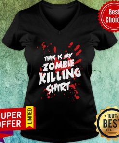 This Is My Zombie Killing V-neck
