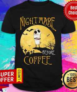 Nightmare Before Dunkin Donuts Halloween Shirt